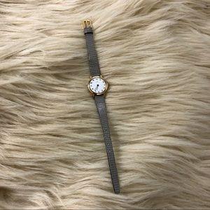 HAMILTON vintage dainty crocodile strap watch